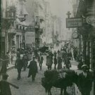 A photo of a street in Constantinople showing German post office which was aboli
