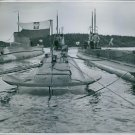Polish submarines interned in Sweden 25th September 1939 until 1945. - 8x10 phot