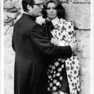 Sophia Loren and Marcello Mastroianni in a still from the movie. - 8x10 photo