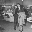 Gary Cooper walking.  - 8x10 photo