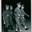 Russian and British Military Police jointly patrol Berlin, January 3, 1946. - 8x