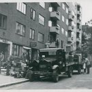 World War II. Families living their homes - 8x10 photo