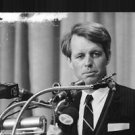 "Robert Francis ""Bobby"" Kennedy delivering speech. - 8x10 photo"