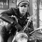Marlon Brando with motorcycle - 8x10 photo
