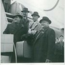 Jussi Björling coming up stairs from plane. - 8x10 photo
