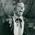 Nils Poppe as a clown. - 8x10 photo