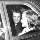 Dirk Bogarde with Romy Schneider in car.  - 8x10 photo