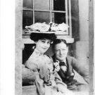 Young Winston Churchill and Consuelo Vanderbilt Spencer sitting.   - 8x10 photo