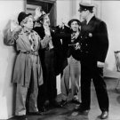 The Marx Brothers on gun point of police officer.  - 8x10 photo