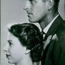 Side view picture of Queen Elizabeth II and Prince Philip. - 8x10 photo