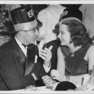 Charles Boyer and Hedy Lamarr at New Year Eve´s party in New York 1939. - 8x10 p