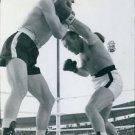 Ingemar Johansson boxing.  - 8x10 photo