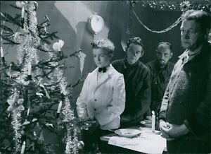 A scene from the film Valfångare with  Artur Rolén, 1939. - 8x10 photo