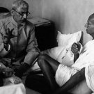 Mahatma Gandhi with Maulana Azad. - 8x10 photo