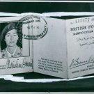 Identification Card of  Maria Krystyna Janina Skarbek AKA Christine Granville. -