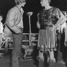 Charlton Heston with man. - 8x10 photo