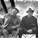 Jean Gabin with man.  - 8x10 photo