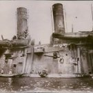 The Gromoboi as been shot by Japanese cannons in 1904. - 8x10 photo
