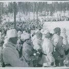 Finnish soldiers in a foramtionThe Winter War was a military conflict between t