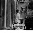 Kim Novak with painting on easel. - 8x10 photo