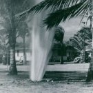 Water erupt from land during Japan's lightning attack on Pearl Harbor  - 8x10 ph