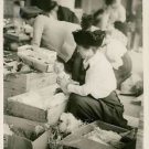 World War I. Packing some of the Christmas gifts carried by the U.S.S. Jason to