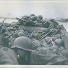 Third U.S. Army troops cross Rhine. - 8x10 photo