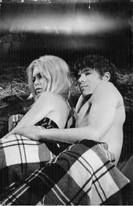 Brigitte Bardot relaxing. - 8x10 photo
