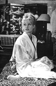 Brigitte Bardot relaxing.  - 8x10 photo