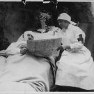 World War I. Wounded Belgian soldier - 8x10 photo