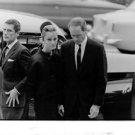 Audrey Hepburn with a man. - 8x10 photo