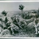 Italian army fights with Allied troops, 1944. - 8x10 photo