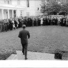John F. Kennedy walking. - 8x10 photo