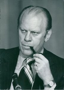 Portrait of a Gerald Ford - 8x10 photo