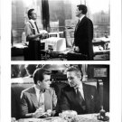 M. Douglas and Charlie Sheen talking.   - 8x10 photo