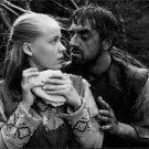 "Birgitta Petterson and Tor Isedal in movie ""Jungfrukallan"". - 8x10 photo"