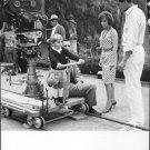 Gina Lollobrigida and Rock Hudson on movie set.  - 8x10 photo