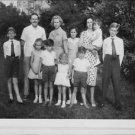 Queen Fabiola holding child. - 8x10 photo