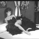 Claudia Cardinale on bed.  - 8x10 photo