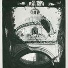 World War II. Gerolmini Church in Napoli - 8x10 photo