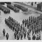 """World War II. French soldiers reviewed at """"Ecole Militaire"""". - 8x10 photo"""