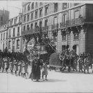 Sarah Bernhardt`s funeral ritual taking place. - 8x10 photo