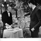 Ingrid Bergman in a movie scene with Anthony Perkins. - 8x10 photo