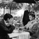 Ingrid Bergman in a movie sene with Anthony Perkins. - 8x10 photo