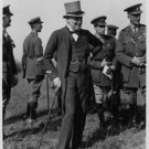 Winston Churchill with Field Marshal Sir Henry Wilson and other members of the A