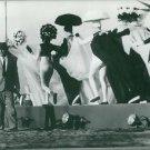Federico Fellini, Italian film director and scriptwriter. - 8x10 photo