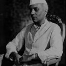 Portrait of Jawaharlal Nehru - 8x10 photo