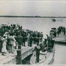 1933 Balbo's squadron in Amsterdam. - 8x10 photo