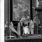 Pope John XXIII meeting with man. - 8x10 photo