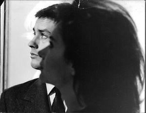 Close up of Alain Delon. - 8x10 photo